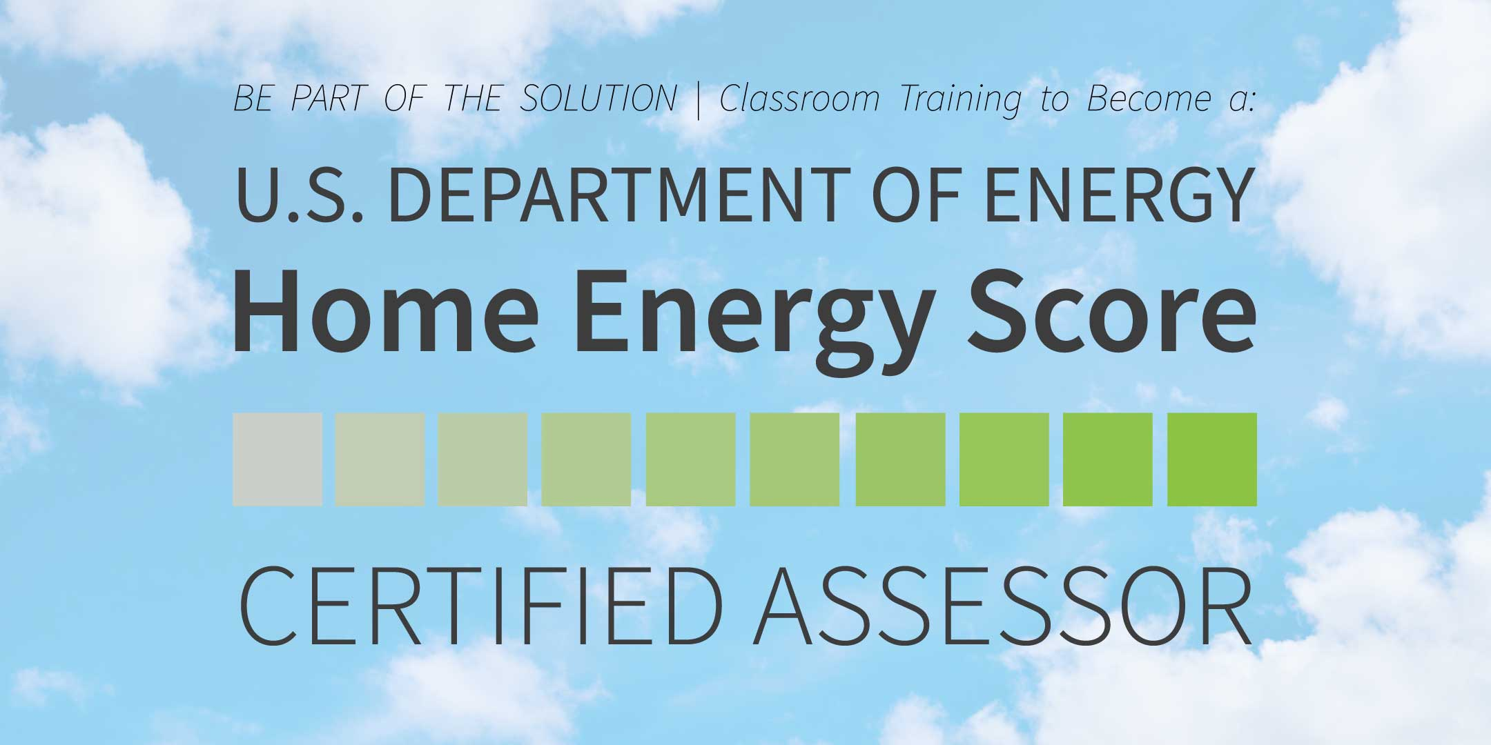 Home Energy Score Certified Assessor Training